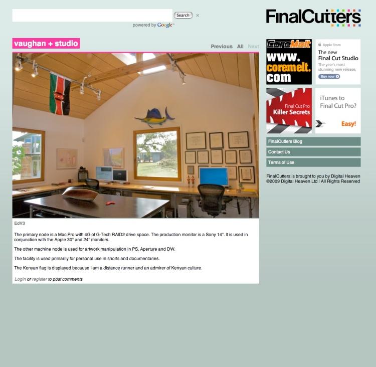 Finalcutters UK website